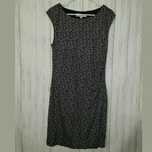 LP Loft Stretch Sleeveless Floral Print Dress
